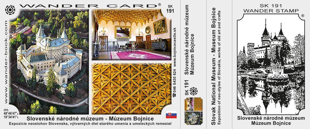 Slovenské národné múzeum – Múzeum Bojnice