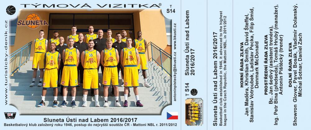 Sluneta Ústí nad Labem 2016/2017