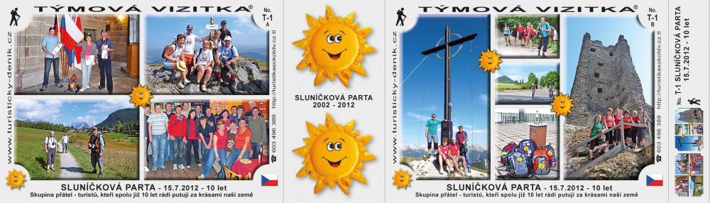 Sluníčková parta 15.7.2012 - 10 let