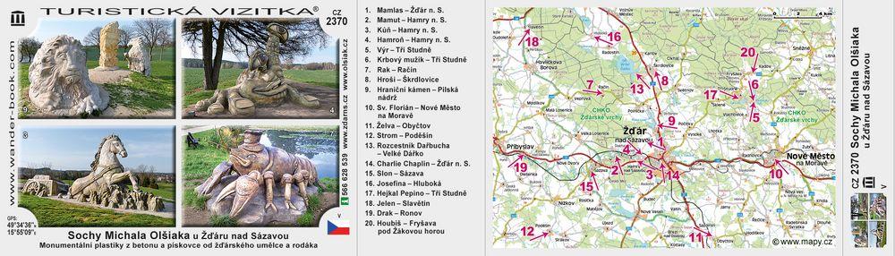 Sochy Michala Olšiaka u Žďáru n S