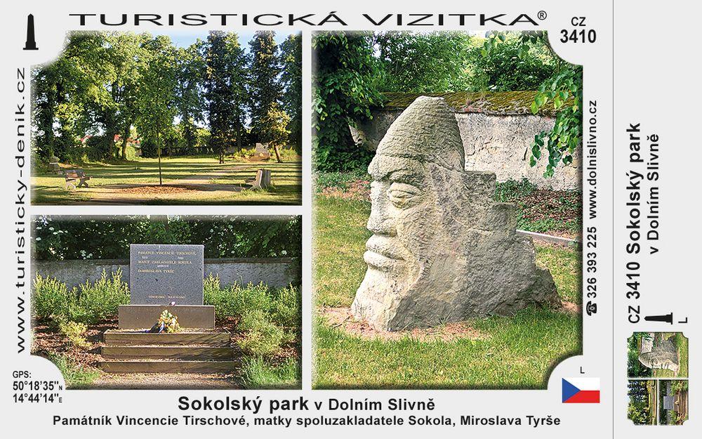Sokolský park v Dolním Slivně