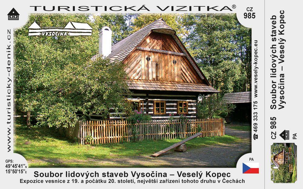 Muzeum v přírodě Vysočina – Veselý Kopec