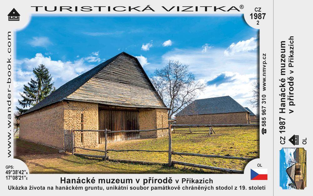 Hanácké muzeum v přírodě v Příkazích