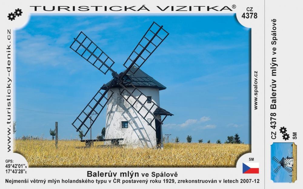 Balerův mlýn ve Spálově