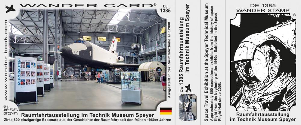 Raumfahrtausstellung im Technikmuseum Speyer