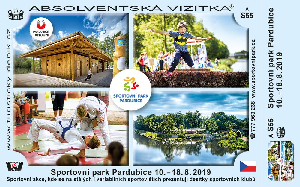 Sportovní park Pardubice 10. - 18. 8. 2019