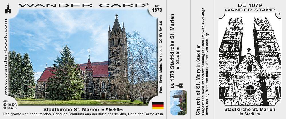 Stadtkirche St. Marien in Stadtilm