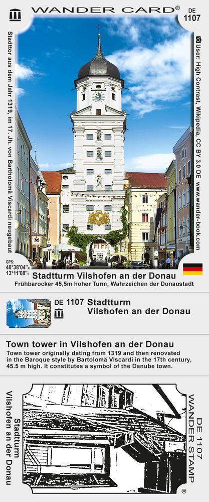 Stadtturm Vilshofen an der Donau