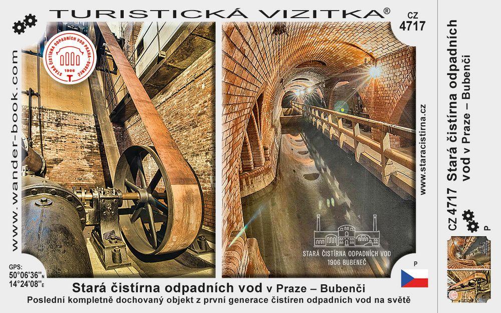 Stará čistírna odpadních vod v Praze – Bubenči