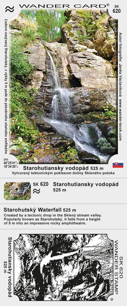 Starohutiansky vodopád