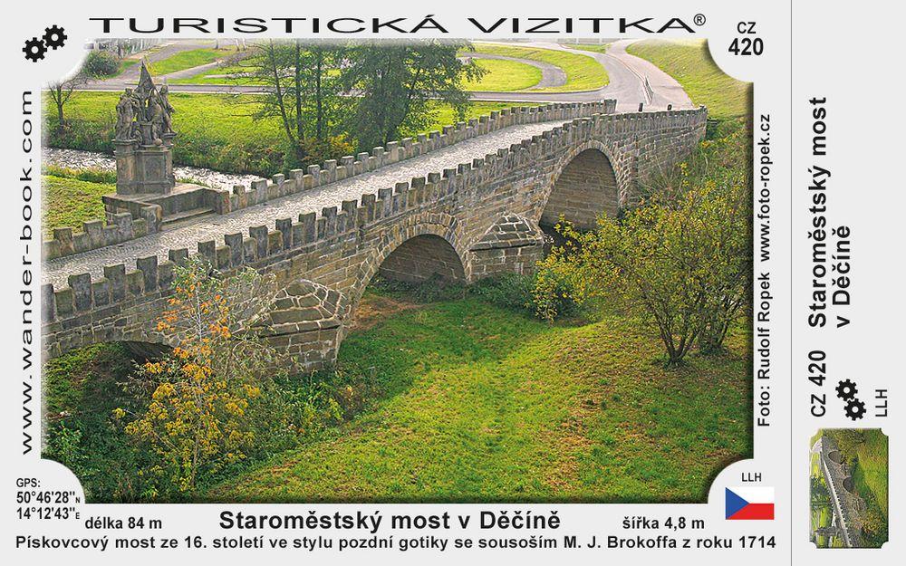 Staroměstský most v Děčíně
