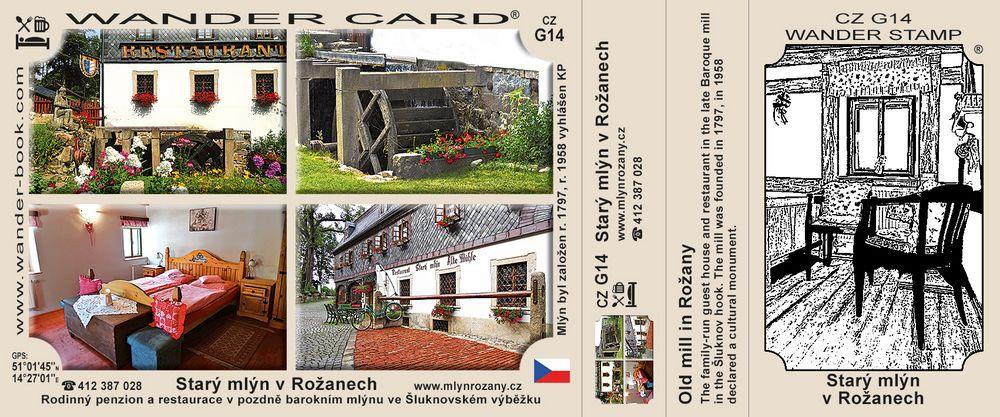 Starý mlýn v Rožanech