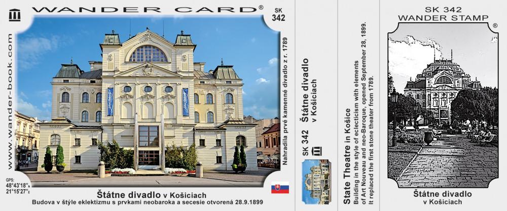Štátne divadlo v Košiciach