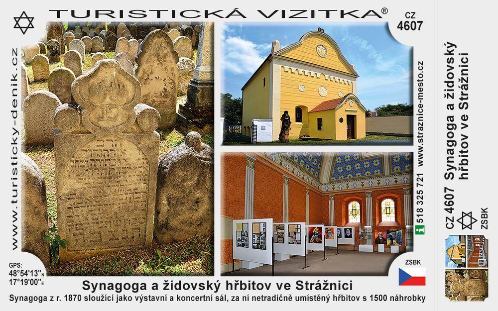 Strážnice židovské památky