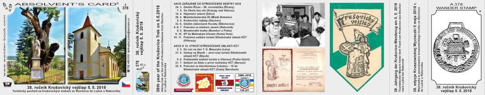 Středočeská 10 Krušovický vejšlap 2018