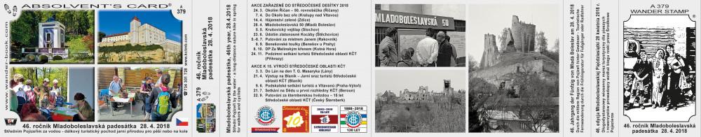 Středočeská 10 Mladoboleslavská 50 2018
