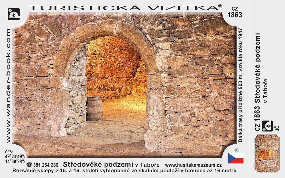 Středověké podzemí v Táboře