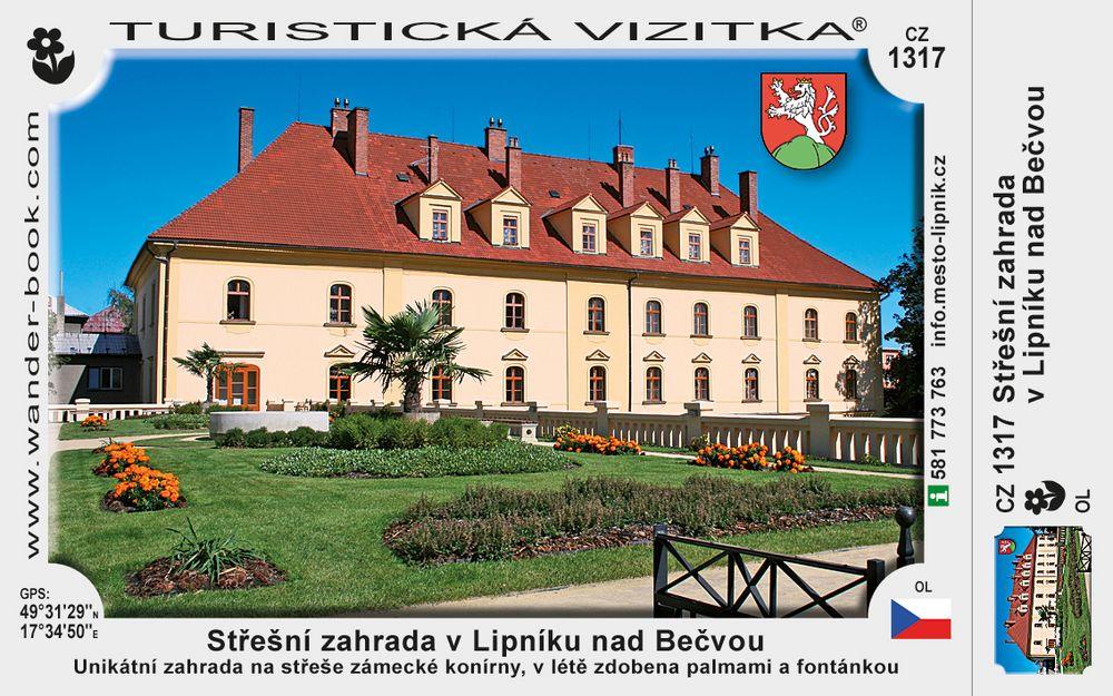 Střešní zahrada v Lipníku nad Bečvou