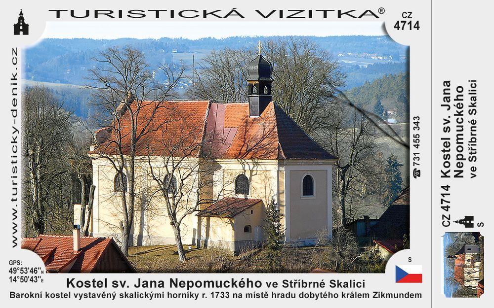 Kostel sv. Jana Nepomuckého ve Stříbrné Skalici