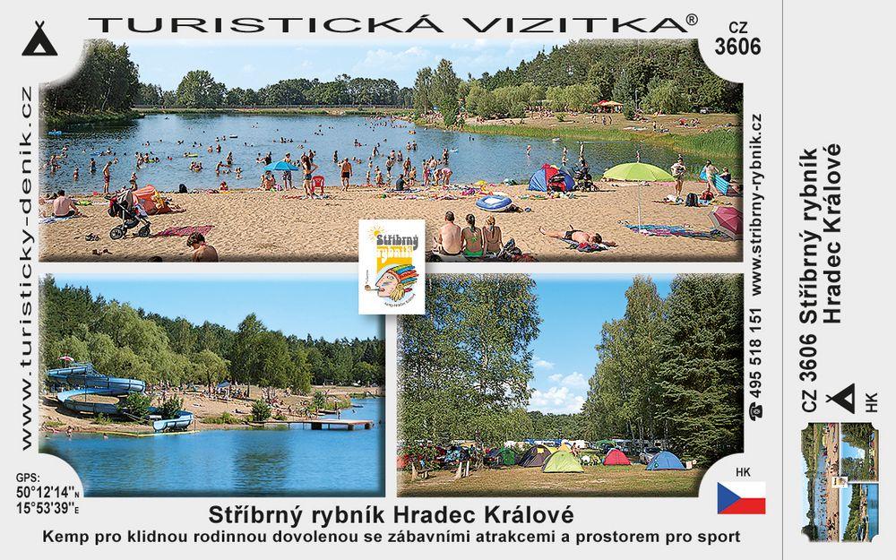 Stříbrný rybník Hradec Králové