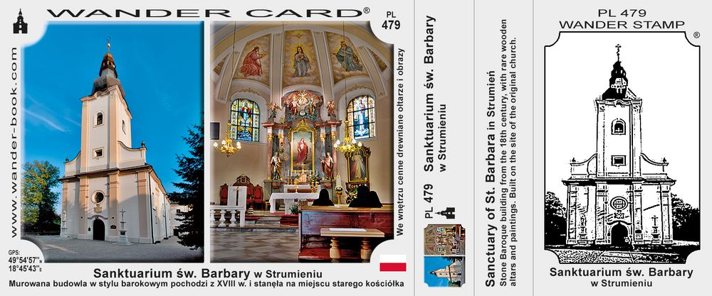 Strumień sanktuarium św Barbary