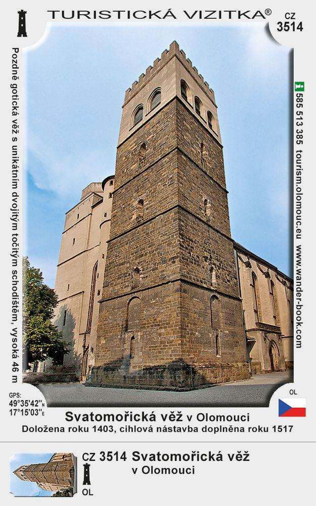 Svatomořická věž v Olomouci