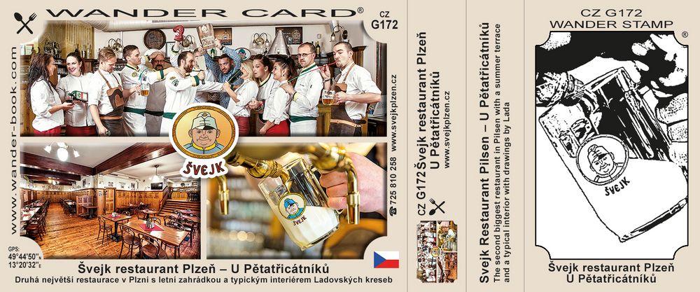 Švejk restaurant Plzeň – U Pětatřicátníků
