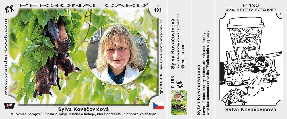 Sylva Kovačovičová