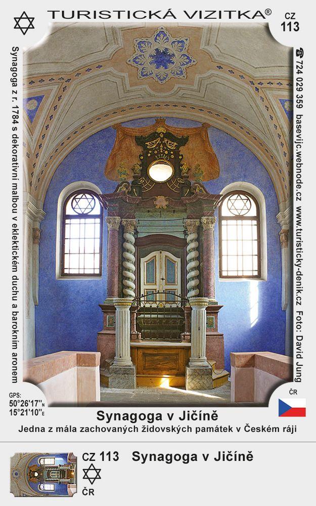 Synagoga Jičín