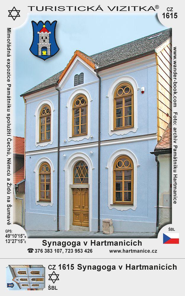 Synagoga v Hartmanicích