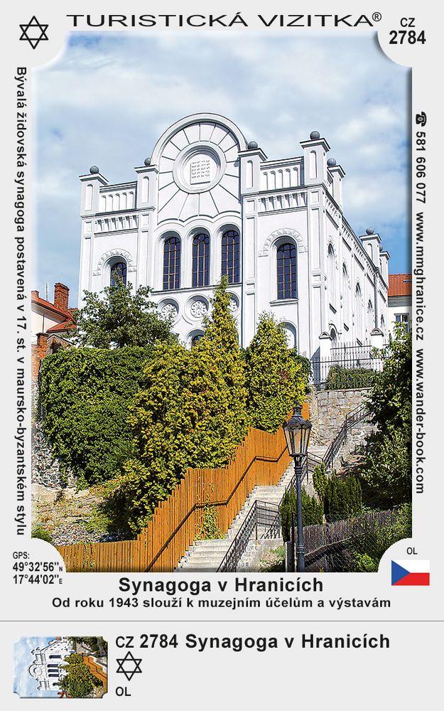 Synagoga v Hranicích