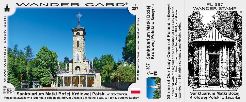 Szczyrk sanktuarium MB Królowej Polski