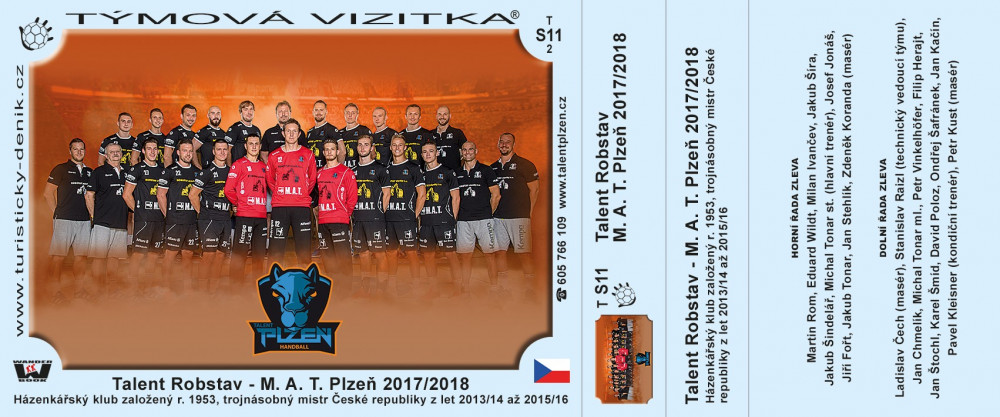 Talent Robstav - M. A. T. Plzeň 2017/2018