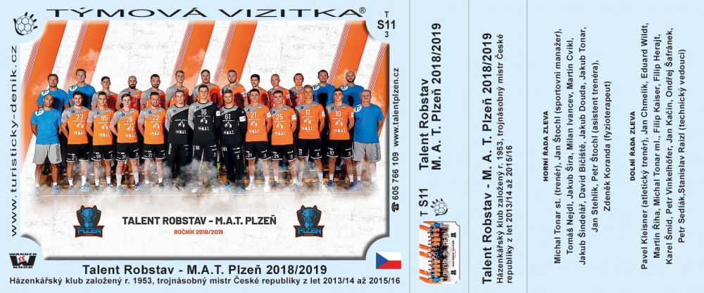 Talent M.A.T. Plzeň 2019/2020