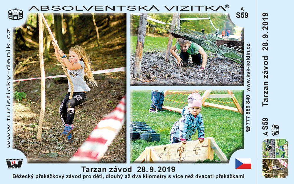 Tarzan Závod 28. 9. 2019