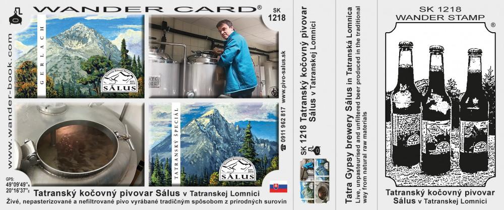 Tatranský kočovný pivovar Sálus v Tatranskej Lomnici