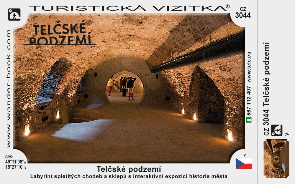 Telčské podzemí