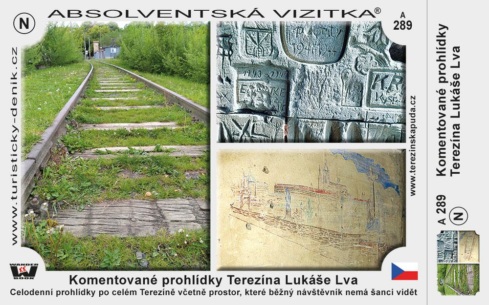 Terezín prohlídky Lev