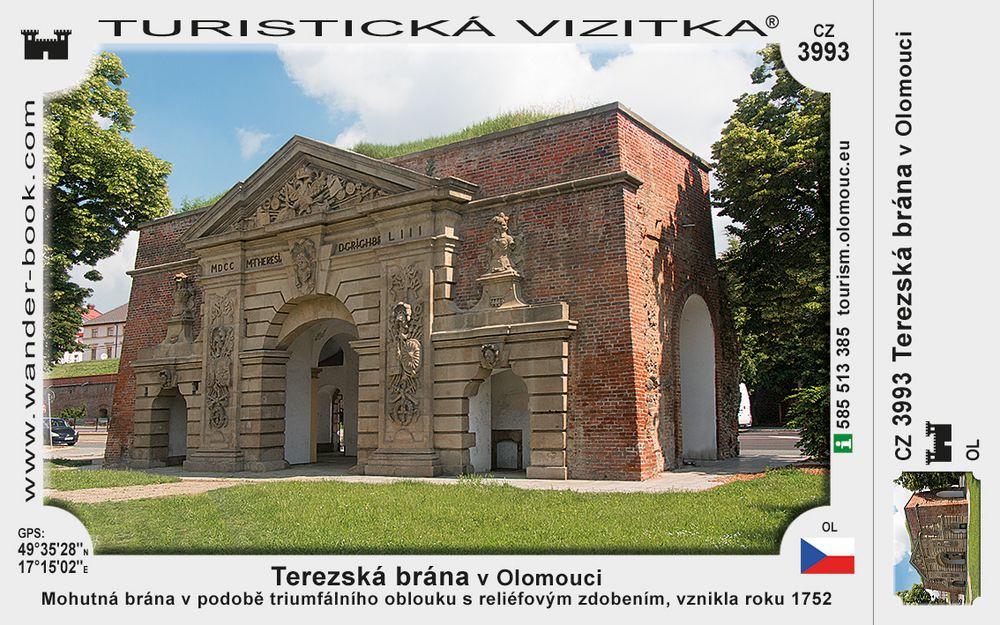 Terezská brána v Olomouci