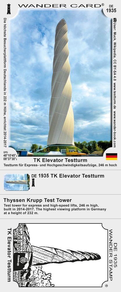 TK Elevator Testturm