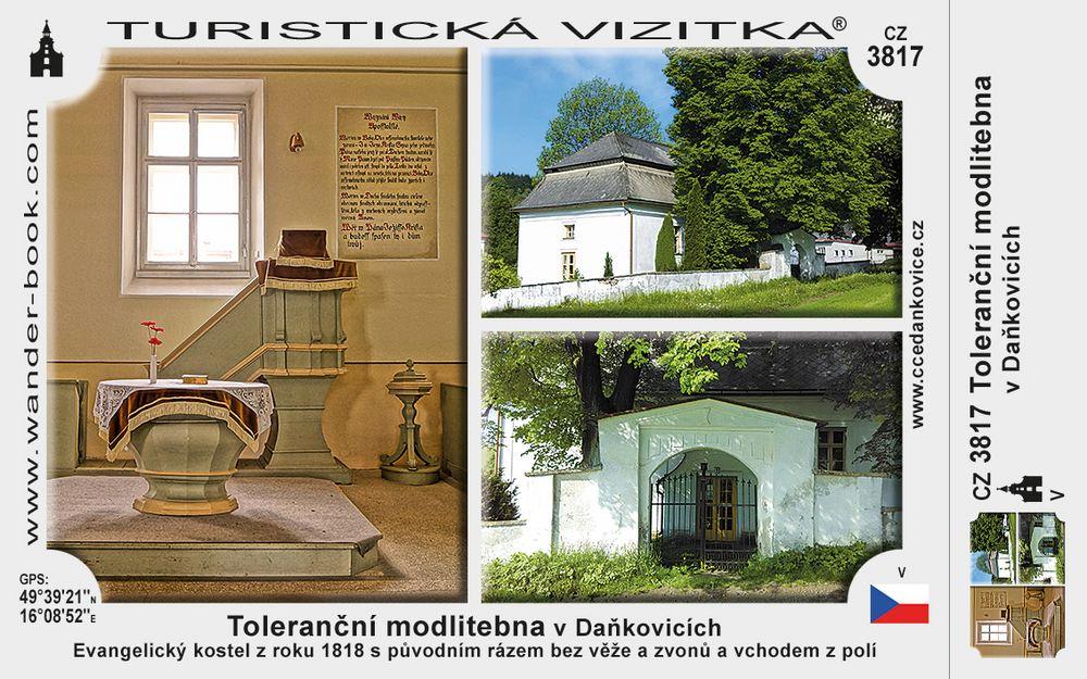 Toleranční modlitebna vDaňkovicích