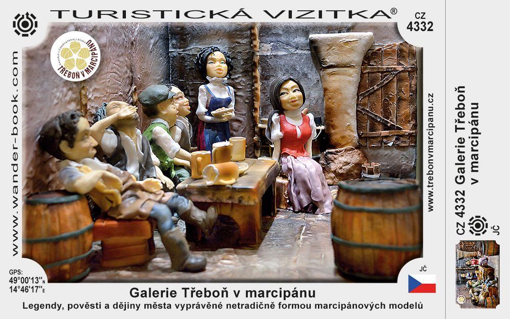 Galerie Třeboň v marcipánu