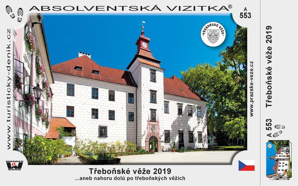 Třeboňské věže 2019
