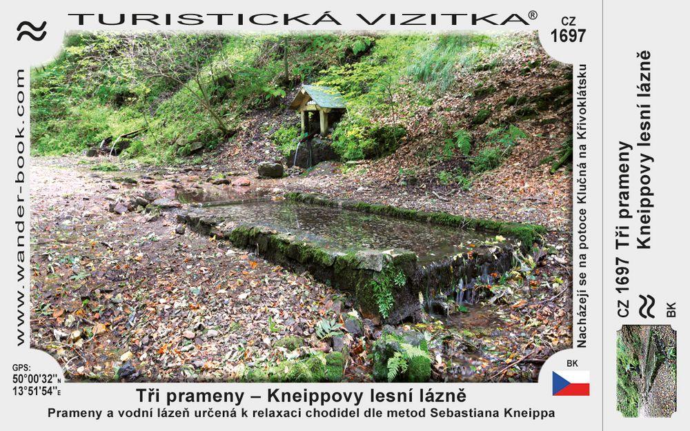 Tři prameny - Kneippovy lázně