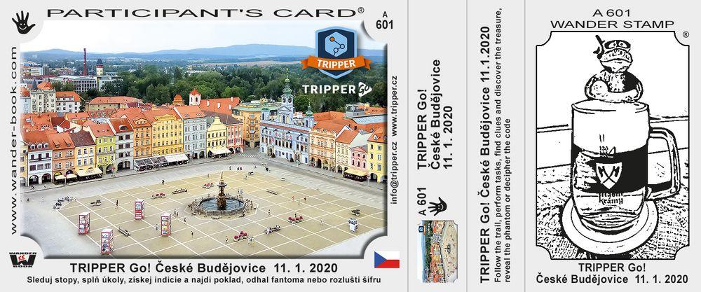 TRIPPER Go! České Budějovice  11. 1. 2020