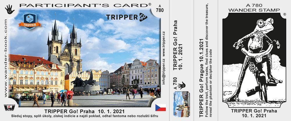 TRIPPER Go! Praha  10. 1. 2021