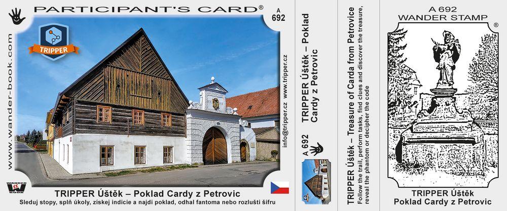 TRIPPER Úštěk – Poklad Cardy z Petrovic