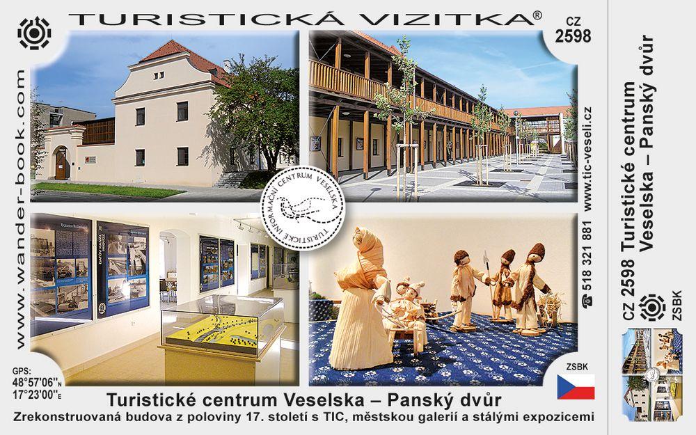 Turist. centrum Veselska - Panský dvůr