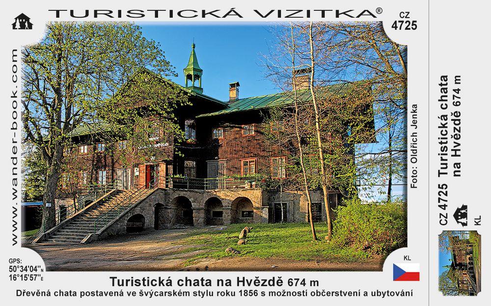 Turistická chata na Hvězdě