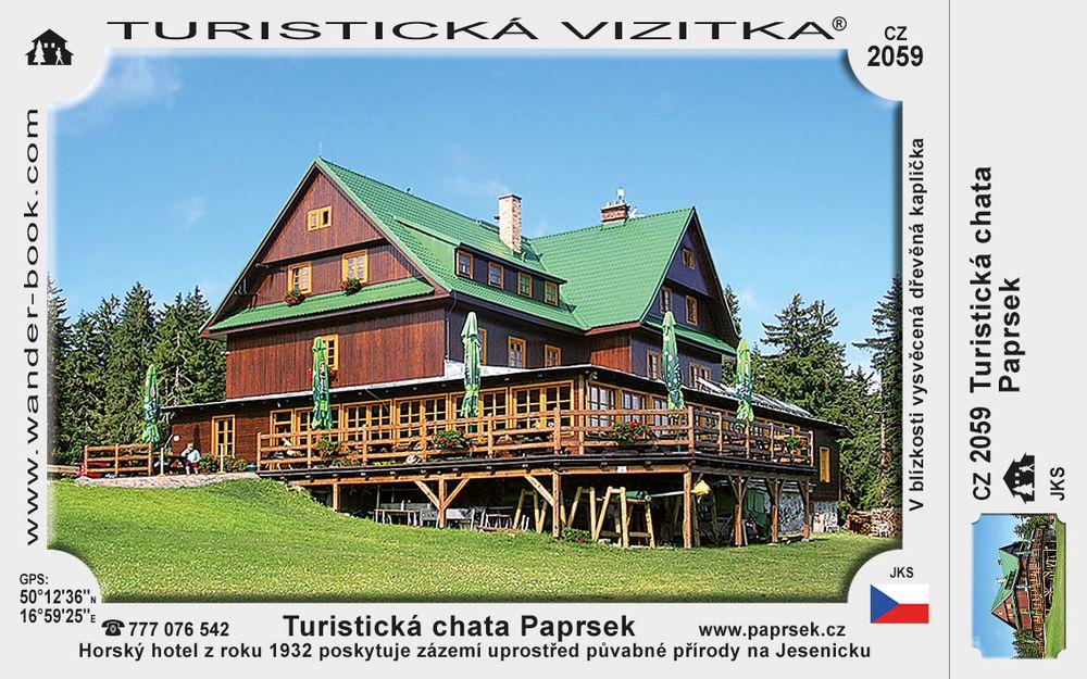 Turistická chata Paprsek